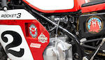 1970 BSA Rocket 3 Rob North Factory Road Racer Engine no. 2614AX