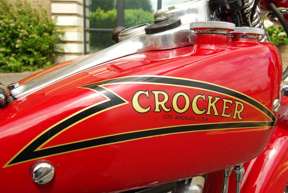 1937 Crocker V-Twin Engine no. 37-61-25