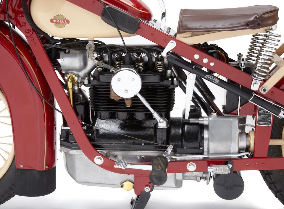 The ex-Otis Chandler,1936 Nimbus Four Frame no. 2793 Engine no. 5922