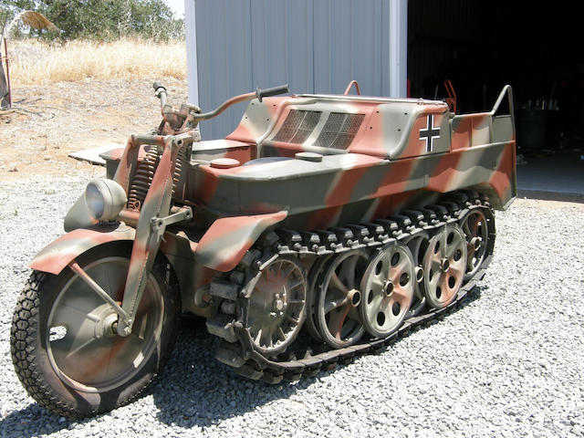 1945 Kettenkrad sdkfz.2 3 Open Seater Frame no. 118003
