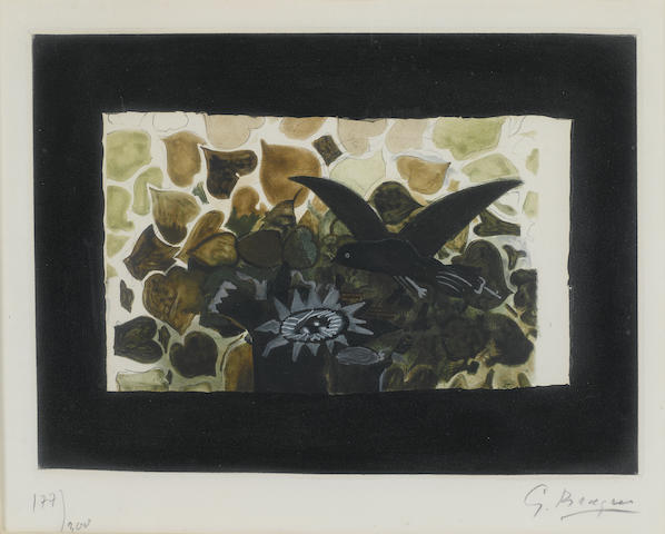 After Georges Braque; Le Nid Vert (MA 1028);