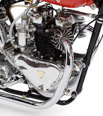 "Featured on the television show ""You Asked For It"",1951 Triumph Thunderbird 650 Baby Mine Dragbike Frame no. 6T 4928NA Engine no. 6T 4928NA"