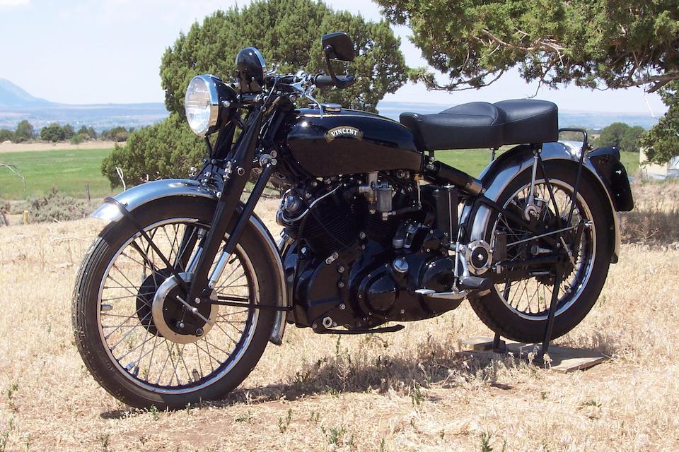 1952 Vincent 998cc Black Shadow Frame no. RC10581BC Engine no. F10AB/1B/8681