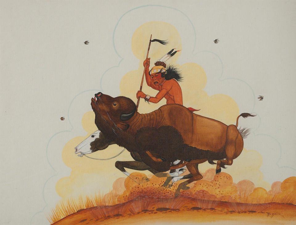 Two Navajo gouaches