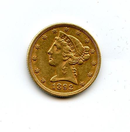 1892 $5