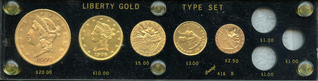 U.S. Gold Type Set
