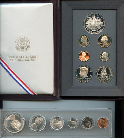 1989 Prestige Set and 1967 Canada Mint Set