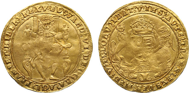 Edward VI, 1547-1553, Gold Sovereign, (1549-50)