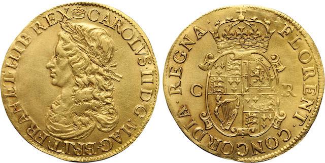 Charles II, 1660-1685, Gold Unite