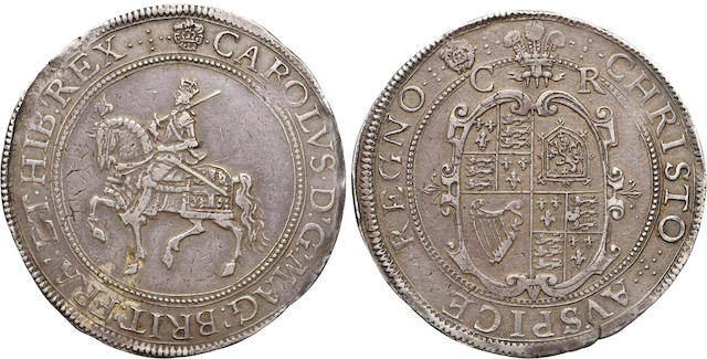 Charles I, 1625-1649, Silver Crown, (1625-42)