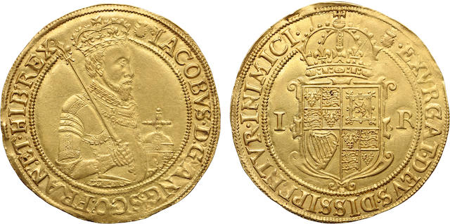 James I, 1603-1625, Gold Sovereign (First Coinage 1603-4)