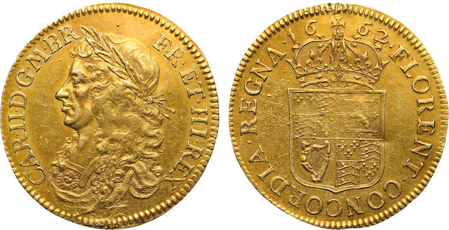 Charles II, 1660-1685, Gold Pattern Broad, 1662