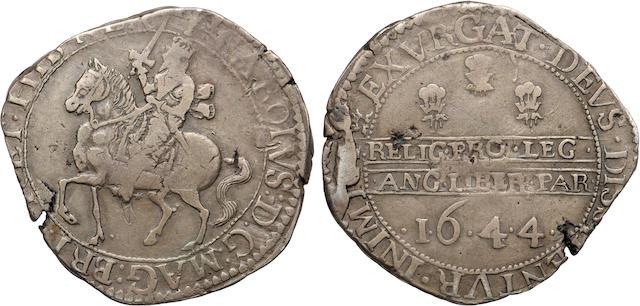 Charles I, 1625-1649, Silver Halfcrown, 1644