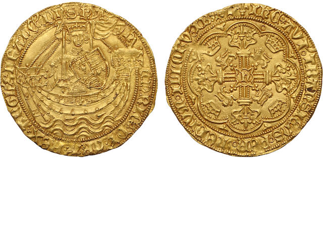Henry VI, First Reign 1422-1461, Gold Noble (1422-27)