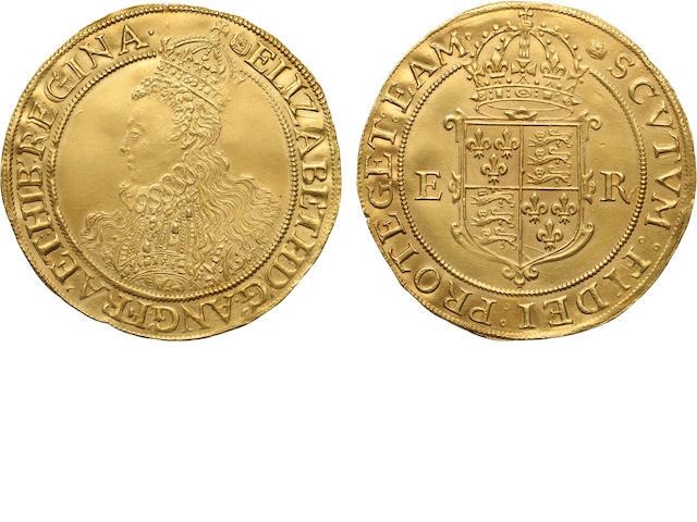 Elizabeth I, 1558-1603, Gold Pound (1591-95)