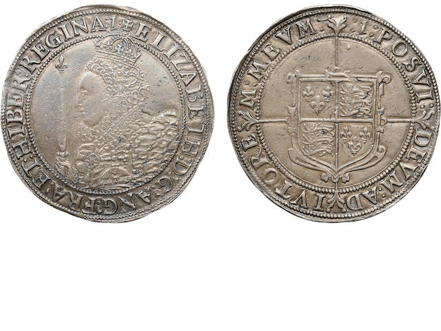 Elizabeth I, 1558-1603, Silver Crown, 1601