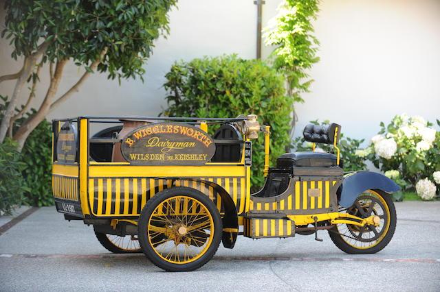1914 Warrick Milkwagon