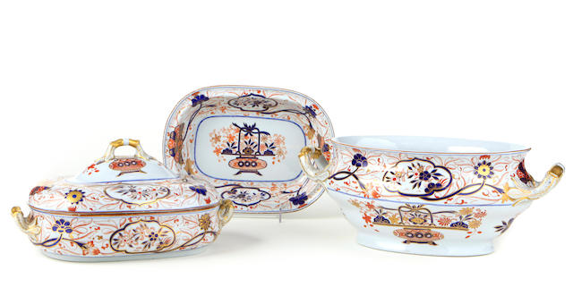 Two Spode porcelain serving pieces