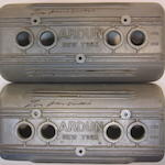 Two Ardun Valve covers that were signed by Zora Arkus-Duntov,