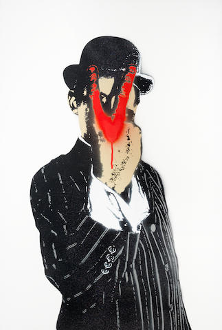 Nick Walker (b. 1969) V For Vandal <BR />