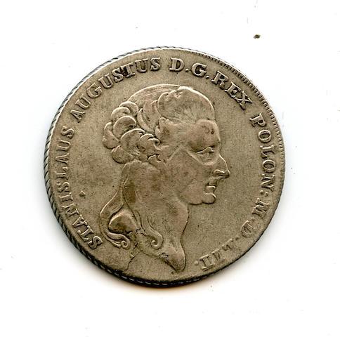 Poland, Stanislaus II Poniatowski, Silver Thaler, 1794