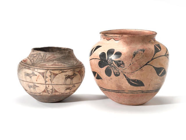 Two Pueblo jars