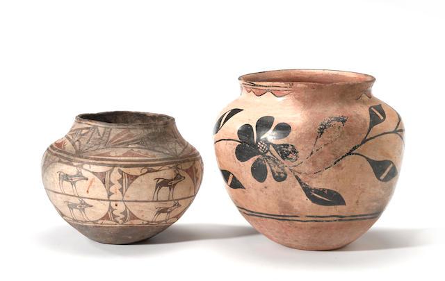 Two Pueblo jars