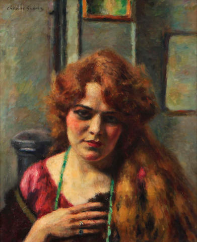Charles Guerin (1875-1939) Femme moderne