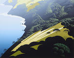 Eyvind Earle (American, 1916-2000); California; (4)