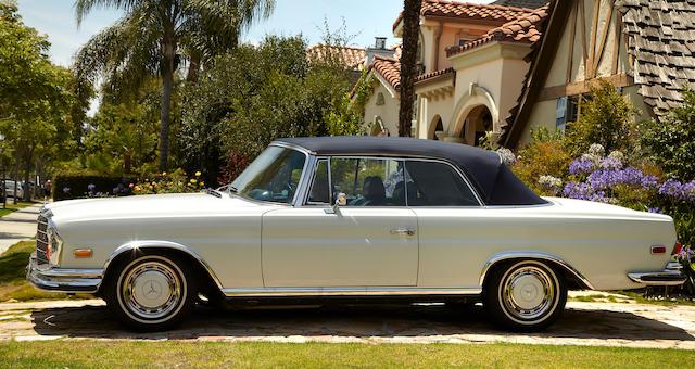 1971 Mercedes-Benz 280SE Cabriolet 3.5  Chassis no. 280SE003206