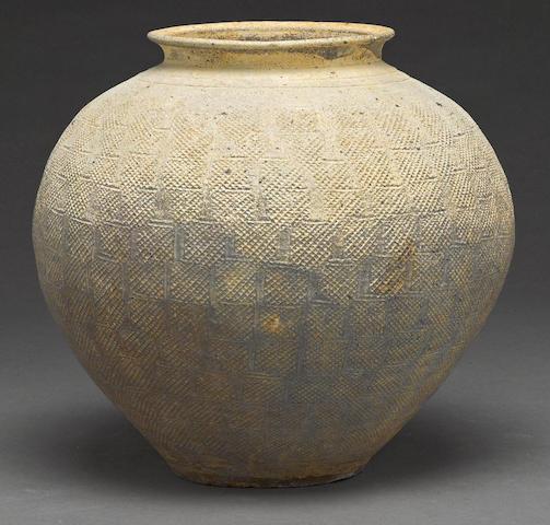 An earthenware jar