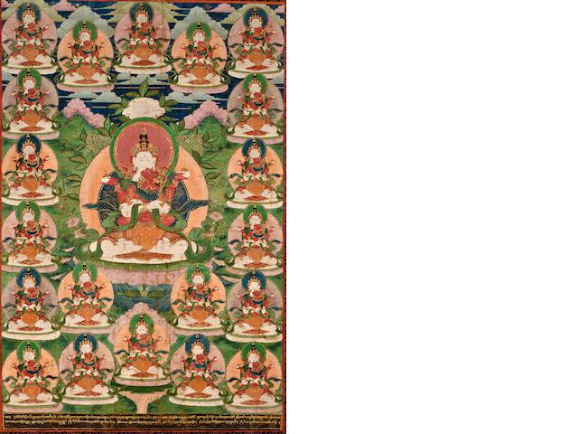 Maitreya and consort