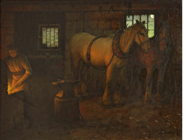 William Barr, Conversation in the Blacksmith's Shop