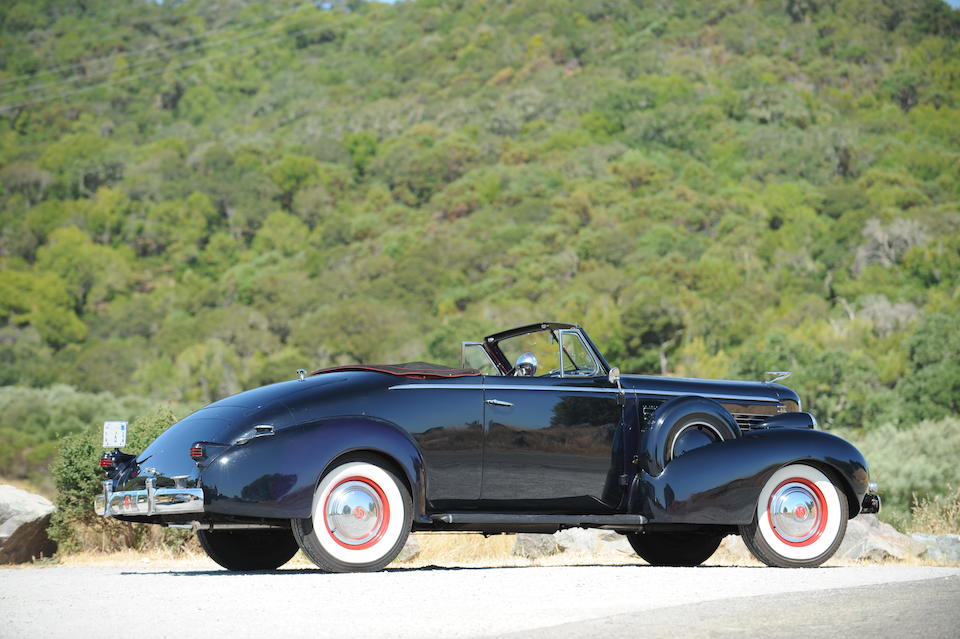 1937 LaSalle Model 50 Convertible Coupe  Chassis no. 2B15097
