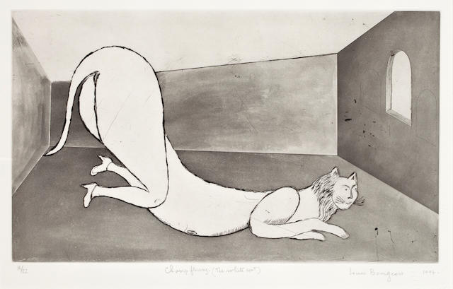 Louise Bourgeois, Champ Fleury (The White Cat), 1994