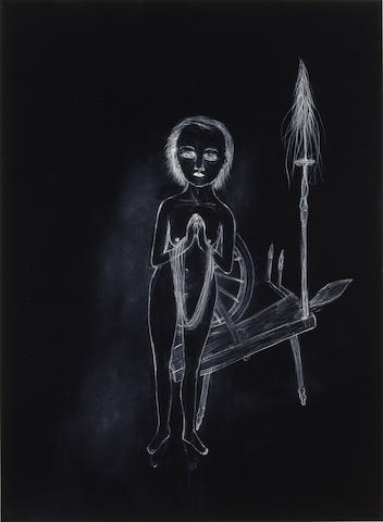 Kiki Smith (born 1954) Spinster Series VII, 2002 20 x 14 5/8in. (50.8 x 37.1cm) This work is number four from an edition of twenty-four published by Pace Editions, Inc., New York.