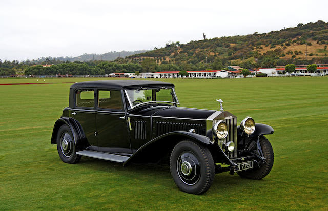 1931 Rolls-Royce Phantom II Continental Mulliner Touring  Chassis no. 64GX Engine no. FF75
