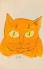 Andy Warhol (1928-1987); 25 Cats Name(d) Sam and One Blue Pussy;