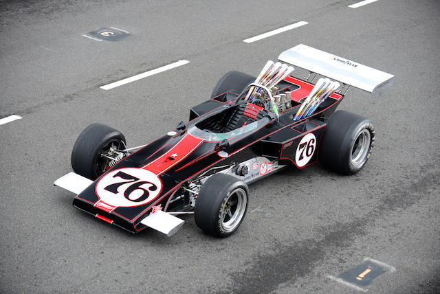 Constructed by Jerry Eisert,1970 Webster  Formula 5000/Indianapolis Single Seater
