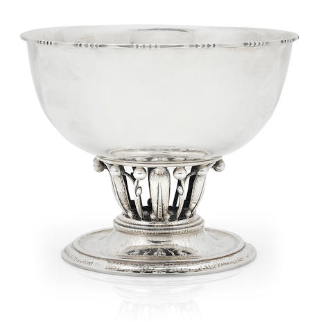 A Georg Jensen footed bowl