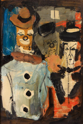 Charles Levier (French, 1920-2004) Three whimsical figures