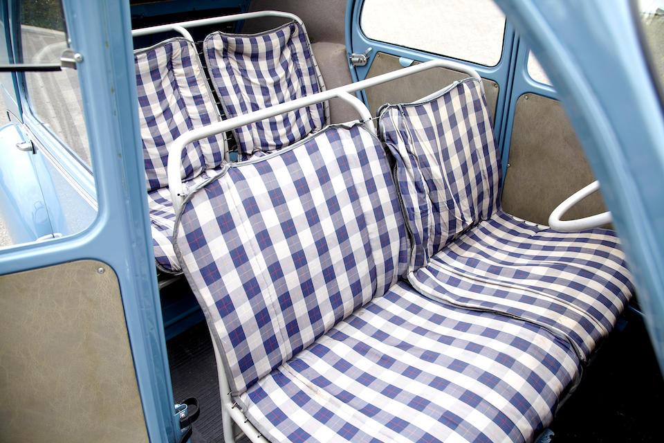 1956 Citroën 2CV  Chassis no. 303308