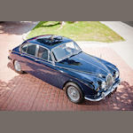 One owner from new, concours restoration,1967 Jaguar 340 Sports Saloon  Chassis no. 1J80048DN Engine no. 7J503178
