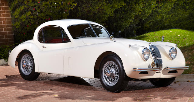 1952 Jaguar XK120 Fixed-Head Coupe  Chassis no. 679632 Engine no. W4759-8