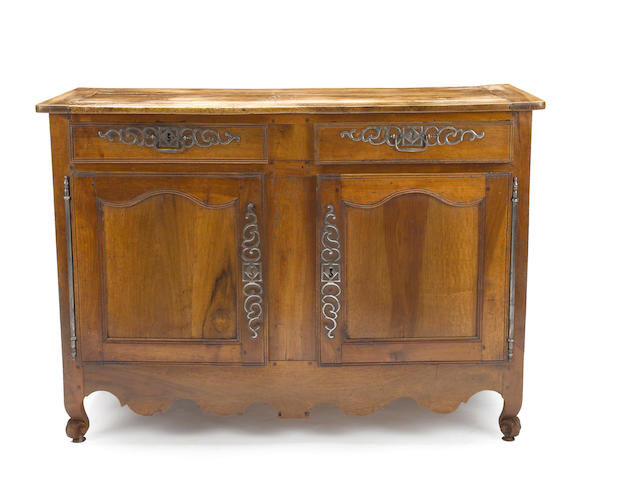 A Louis XV fruitwood buffet<BR /> second half 18th century