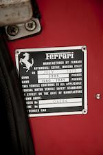 1972 Ferrari 246 GTS Spyder  Chassis no. 2460T804284