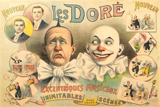 Louis Galice (French, 1864-1935); Les Doré, Excentriques Musicaux;