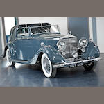 1937 Rolls-Royce 25/30hp Sedanca Coupe  Chassis no. GXM 11 Engine no. H28V