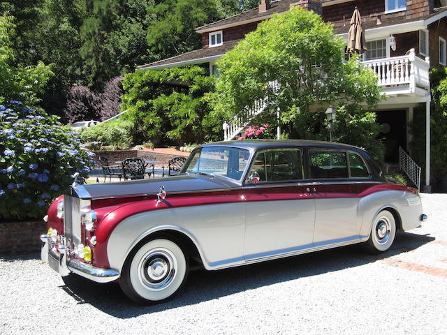 The ex-Marjorie Merriweather Post,1961 Rolls-Royce Phantom V Limousine  Chassis no. 5LAT82 Engine no. P2129