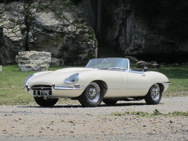 1962 Jaguar XKE 3.8-liter Roadster  Chassis no. 875769 Engine no. R2151-9